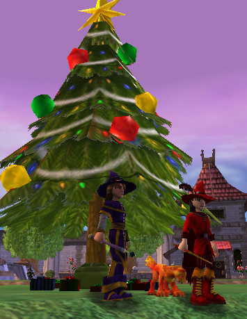 Happy Holidays from Dustin, David, and Wizard101!